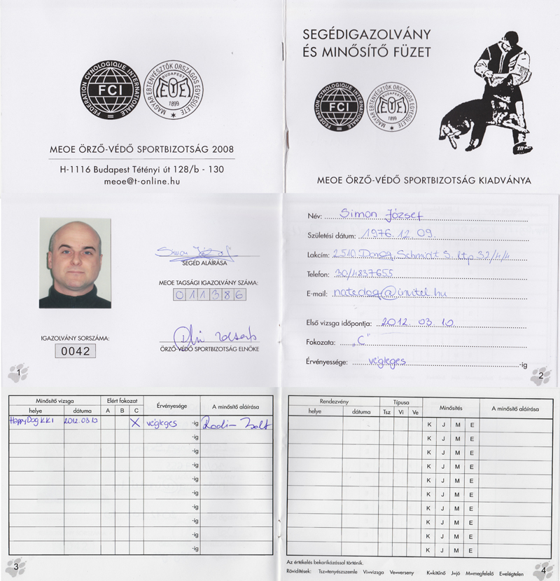 Helpher licence